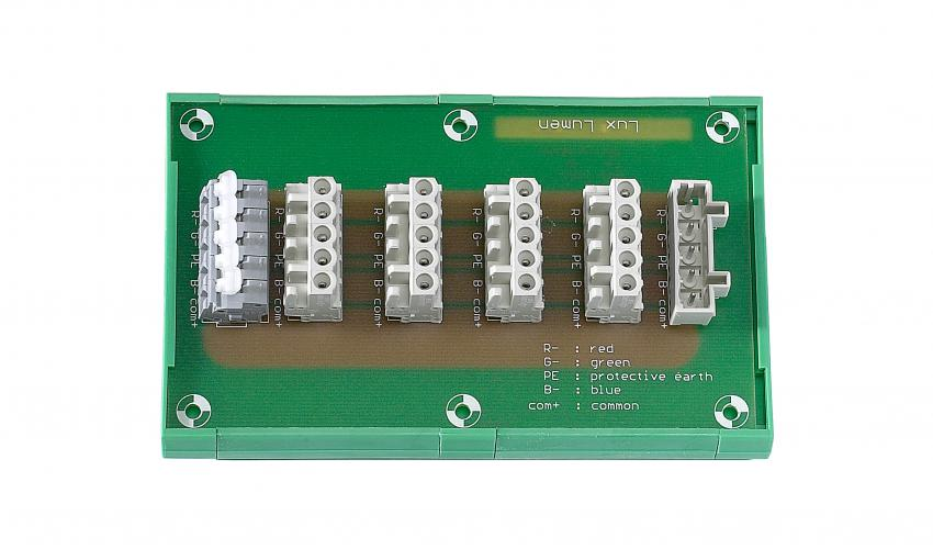 LED splitter board 4