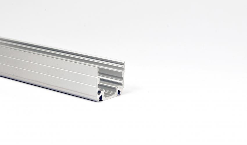 Rectang 24 Silver Extrusion Profile
