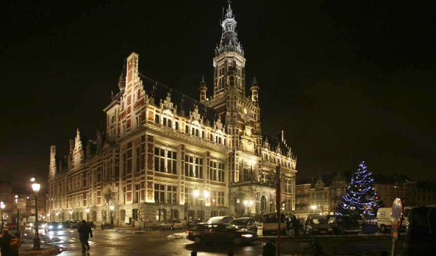 City hall, Schaerbeek